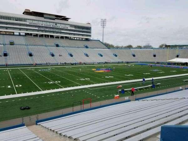 David Booth Kansas Memorial Stadium, section: 24, row: 22, seat: 1