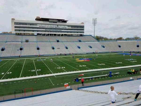 David Booth Kansas Memorial Stadium, section: 23, row: 26, seat: 13