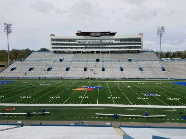 David Booth Kansas Memorial Stadium, section: 21, row: 33, seat: 5