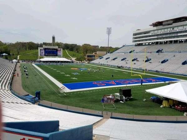 David Booth Kansas Memorial Stadium, section: 15, row: 30, seat: 5