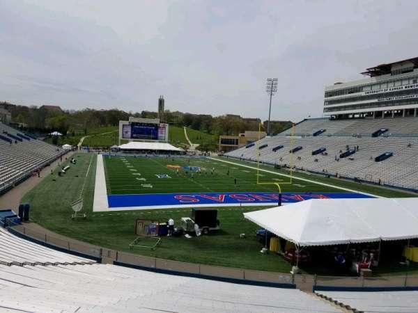 David Booth Kansas Memorial Stadium, section: 15, row: 30, seat: 13