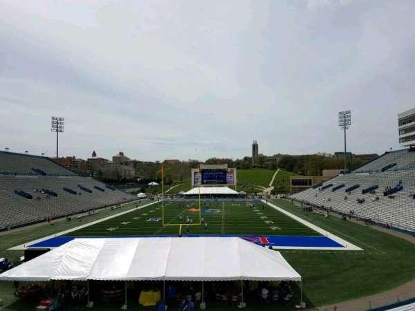 David Booth Kansas Memorial Stadium, section: 13, row: 30, seat: 15