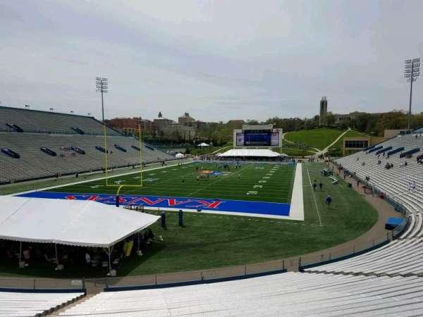 David Booth Kansas Memorial Stadium, section: 12, row: 30, seat: 35