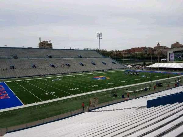 David Booth Kansas Memorial Stadium, section: 9, row: 33, seat: 35