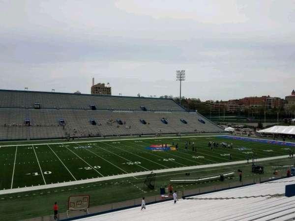 David Booth Kansas Memorial Stadium, section: 9, row: 33, seat: 10