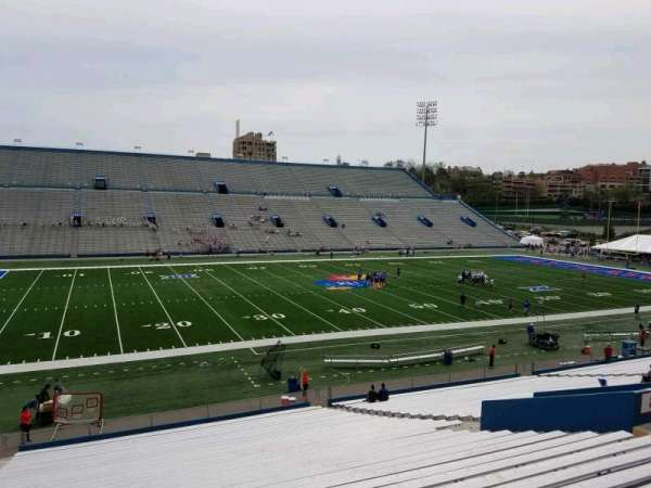 David Booth Kansas Memorial Stadium, section: 8, row: 35, seat: 25