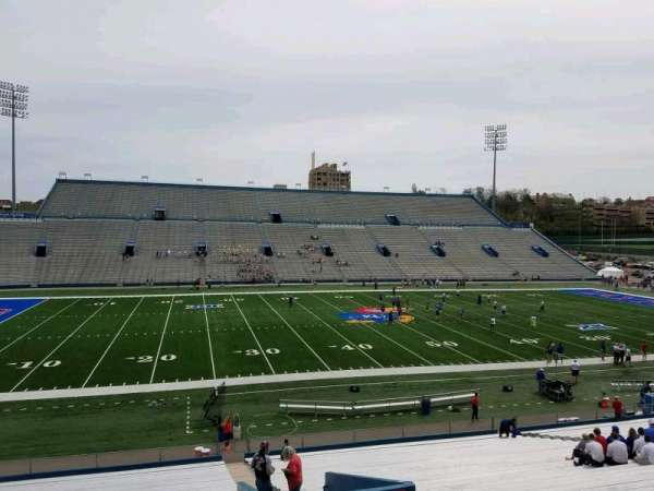 David Booth Kansas Memorial Stadium, section: 8, row: 35, seat: 4