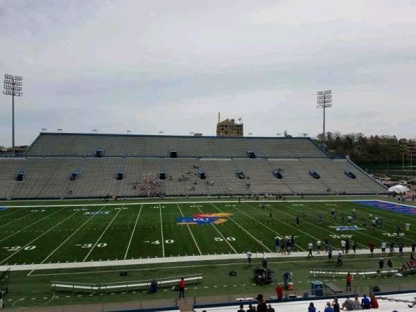 David Booth Kansas Memorial Stadium, section: 5, row: 35, seat: 5