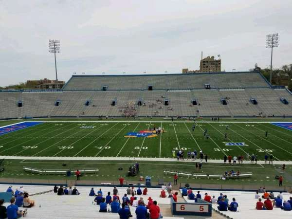 David Booth Kansas Memorial Stadium, section: 6, row: 42, seat: 3