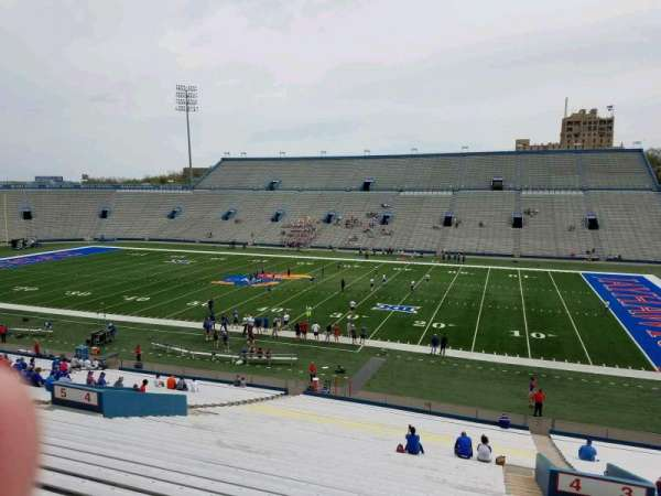 University of Kansas Memorial Stadium, section: 4, row: 42, seat: 5