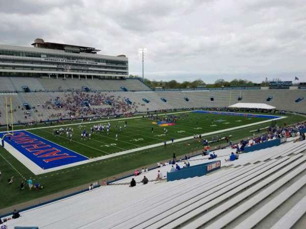 University of Kansas Memorial Stadium, section: 26, row: 42, seat: 2