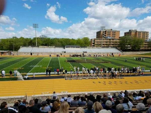 Welch Stadium, section: M, row: 20, seat: 18