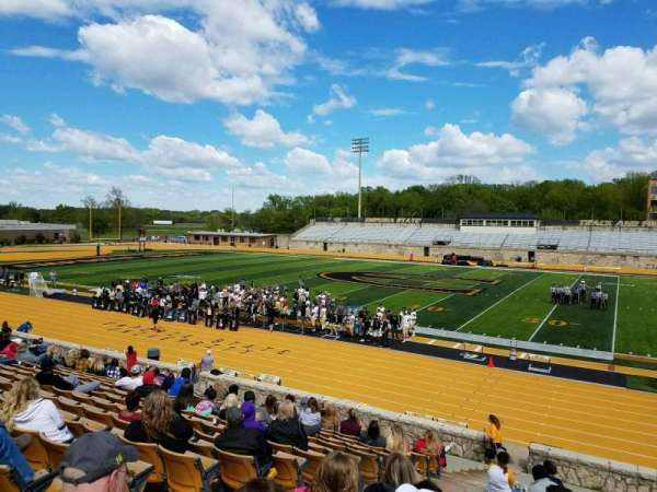 Welch Stadium, section: P, row: 20, seat: 20