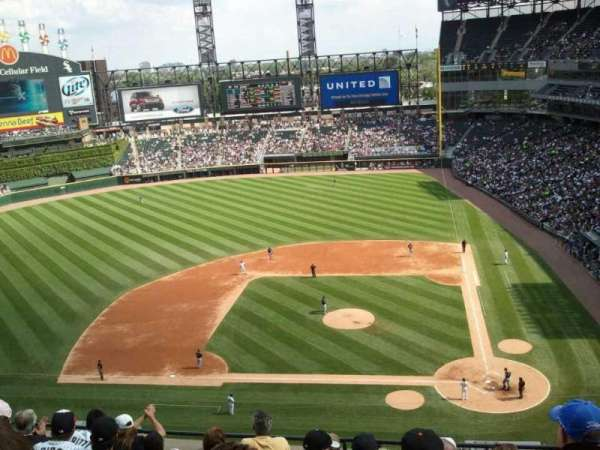 Guaranteed Rate Field, section: 537, row: 7, seat: 10