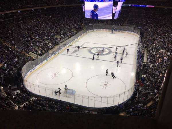 Madison Square Garden, section: 306, row: 1, seat: 14