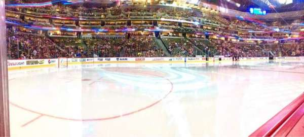 Pepsi Center, section: 104, row: 1, seat: 13