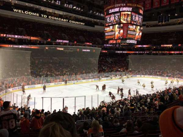Wells Fargo Center, section: PS22, row: 1, seat: 6