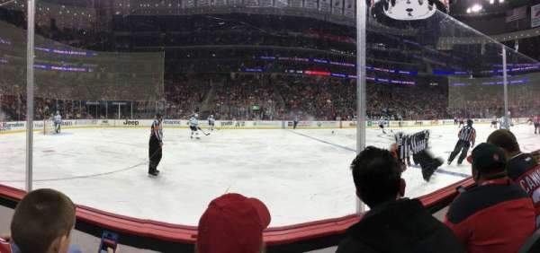 Prudential Center, section: 18, row: GL2, seat: 12