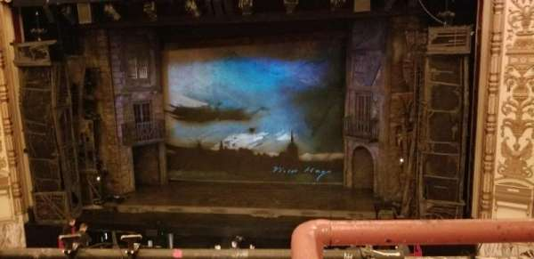 Cadillac Palace Theater, section: Loge RC, row: A, seat: 321