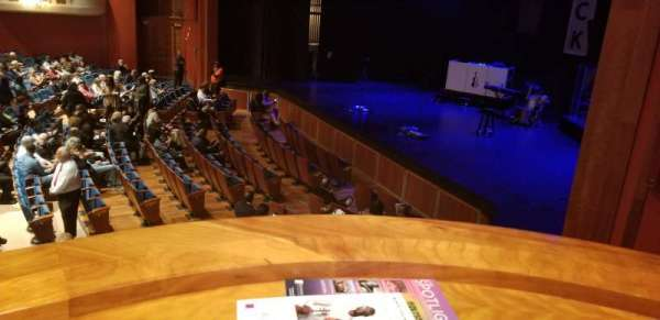 Au-Rene Theatre at the Broward Center, section: Orchestra Box F, seat: 2