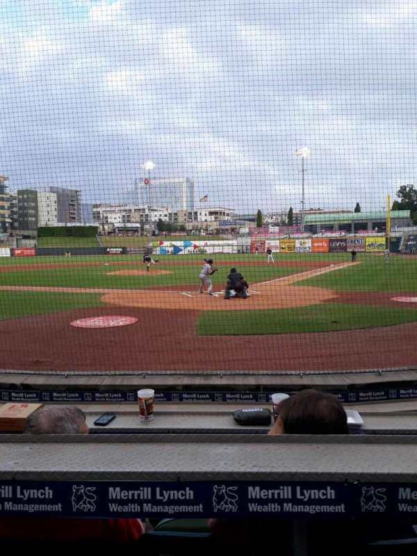 Regions Field , section: 107, row: F, seat: 6