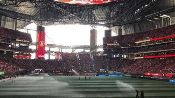 Mercedes-Benz Stadium, section: 120, row: 11, seat: 16