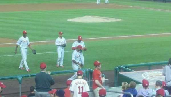 Nationals Park, section: 115, row: J, seat: 5