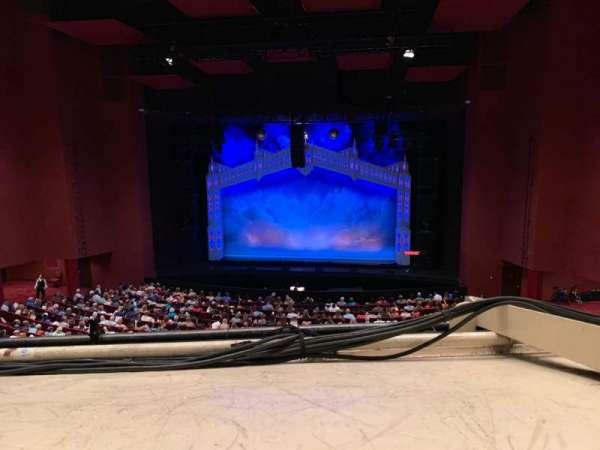 San Diego Civic Theatre, section: Mezzanine R, row: O, seat: 14