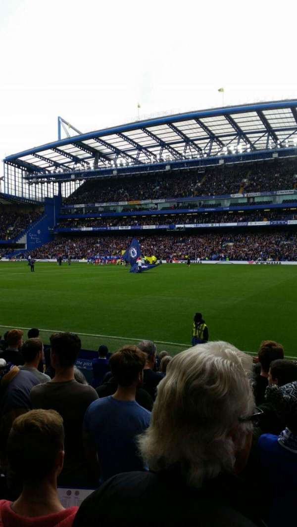 Stamford Bridge, section: East Lower North, row: O, seat: 172