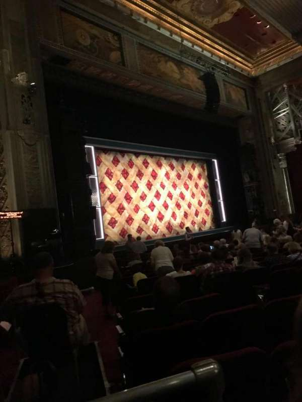 Hollywood Pantages Theatre, section: Orchestra L, row: R, seat: 4