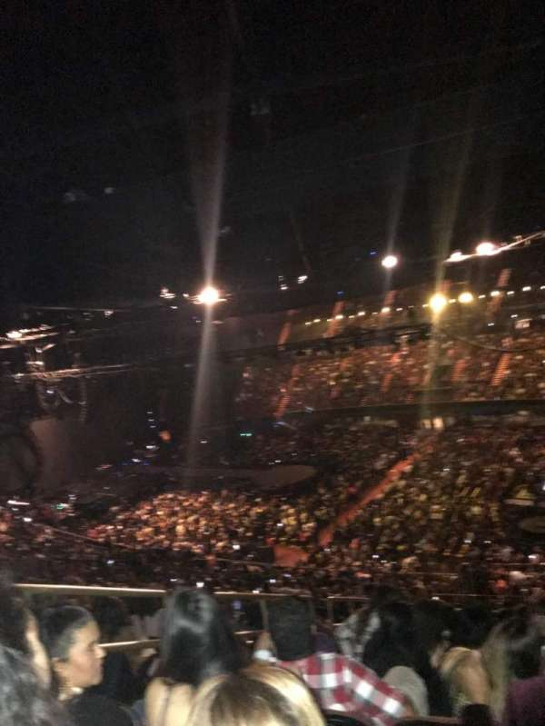 The Forum, section: 230, row: 15, seat: 4
