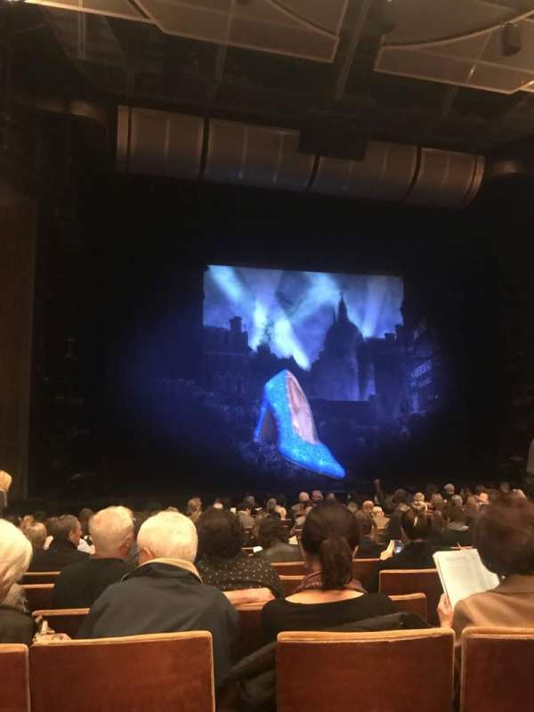 Ahmanson Theatre, section: Orchestra, row: N , seat: 41