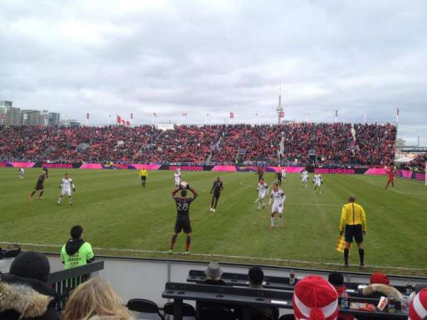 BMO Field, section: 121, row: 3, seat: 3-4