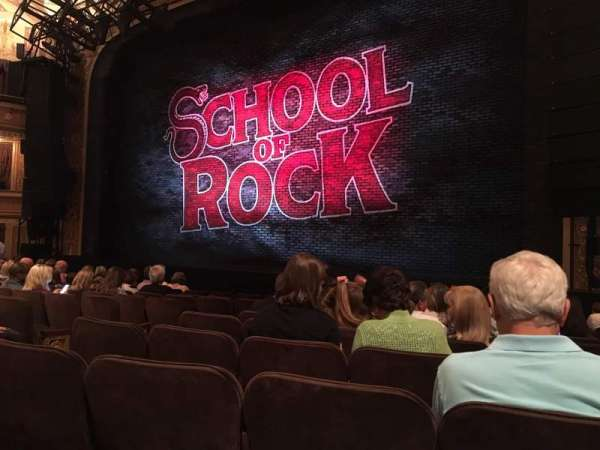 Winter Garden Theatre, section: Orchestra R, row: K, seat: 10