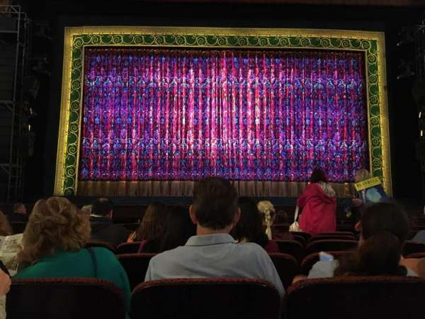 Citizens Bank Opera House, section: Orchestra, row: F, seat: 108