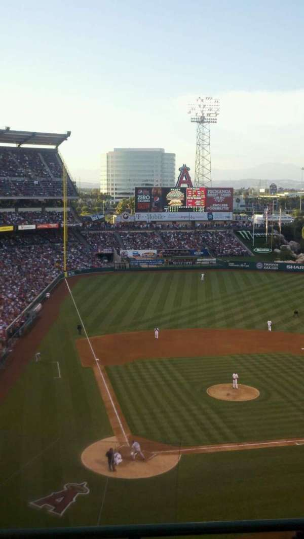 Angel Stadium, section: 524