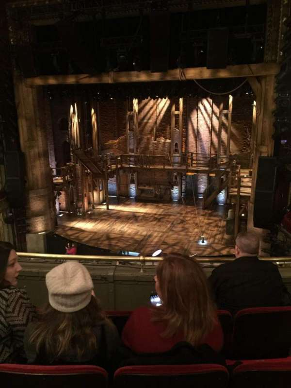 CIBC Theatre, section: Mezzanine RC, row: D, seat: 322
