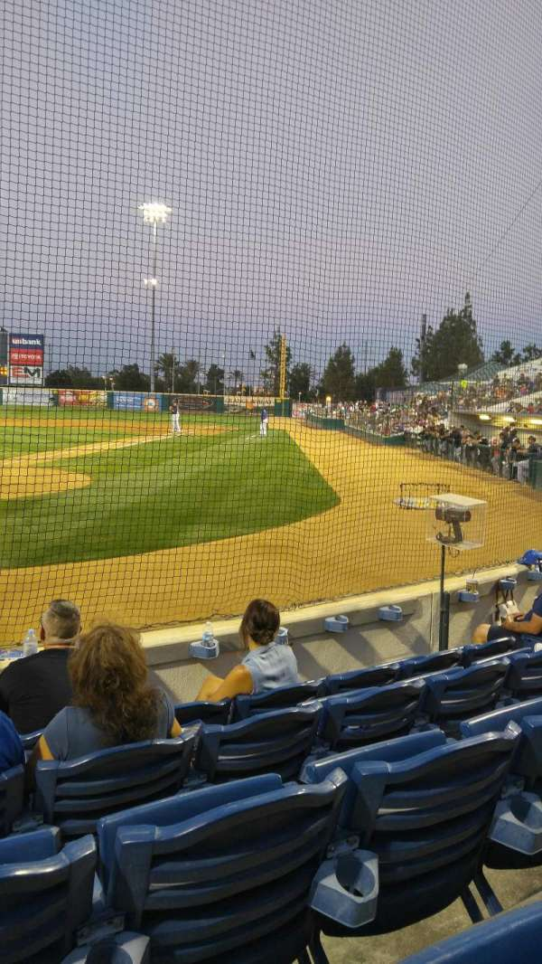 LoanMart Field, section: Superbox 1, row: F, seat: 14