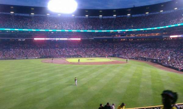 Turner Field, section: 240L, row: 2, seat: 102