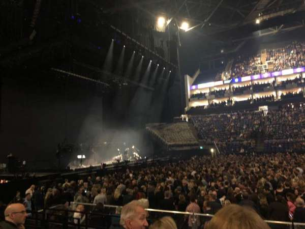 The O2 Arena, section: 101, row: H, seat: 37