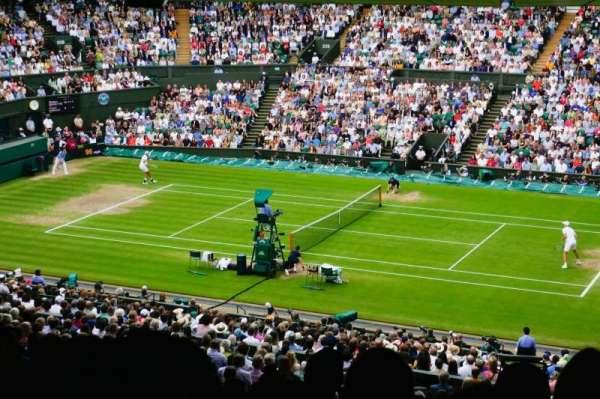 Wimbledon, Centre Court, section: 501, row: ZB, seat: 9