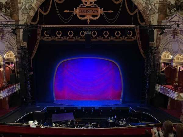 London Coliseum, section: Upper Circle, row: F, seat: 29