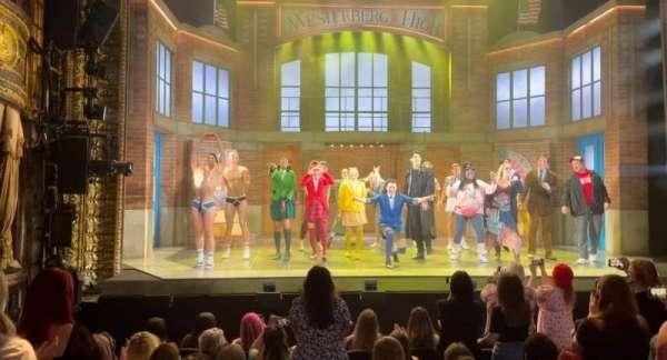 Theatre Royal Haymarket, section: Stalls, row: K, seat: 16