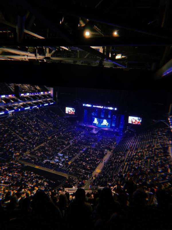 The O2 Arena, section: 414, row: U, seat: 775