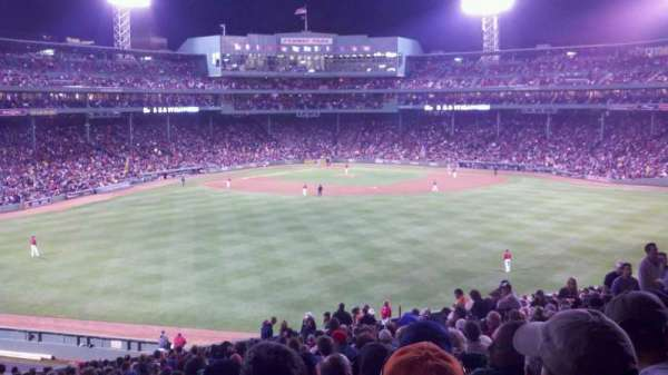 Fenway Park, section: Bleacher 37, row: 37, seat: 14