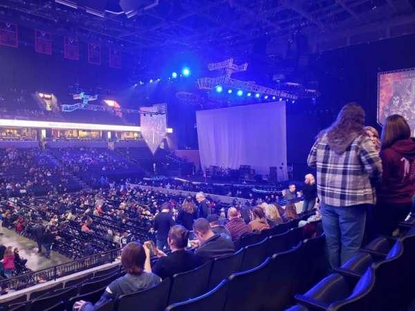 John Paul Jones Arena, section: 104, row: V, seat: 19