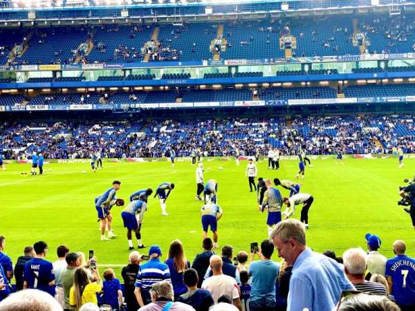 Stamford Bridge, section: East Lower North, row: P, seat: 137