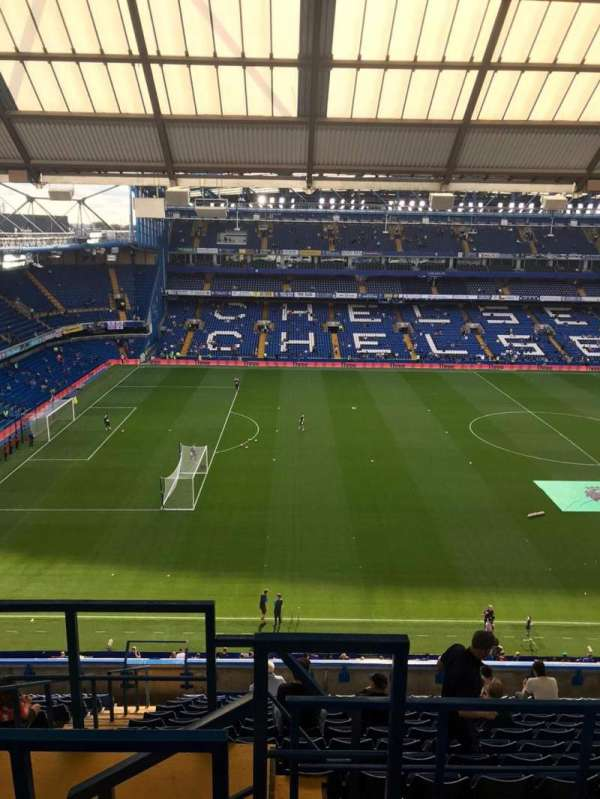 Stamford Bridge, section: East Stand Upper, row: 17, seat: 148