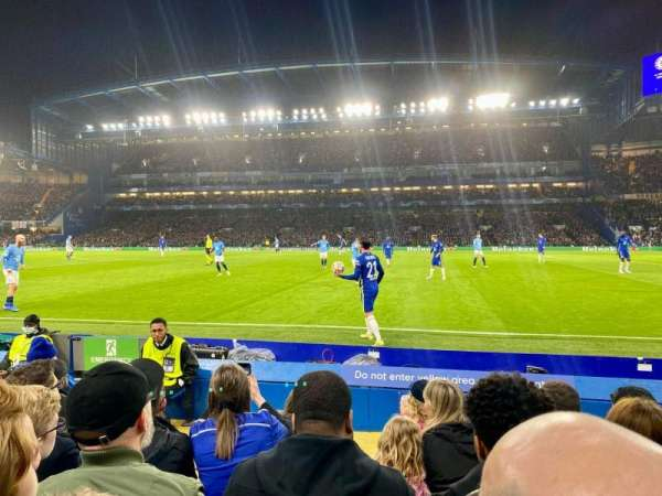 Stamford Bridge, section: East Lower North, row: H, seat: 146