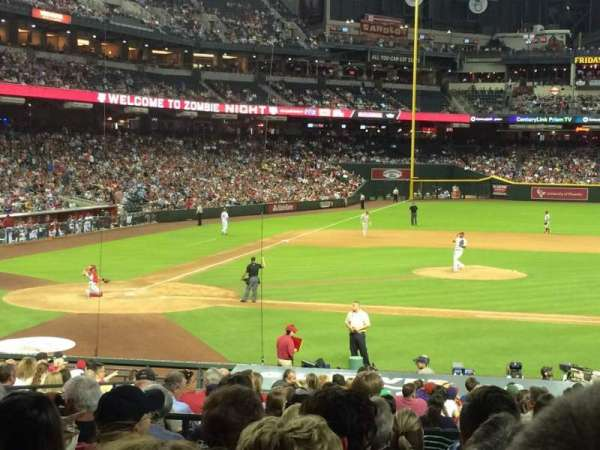 Chase Field, section: 117, row: 28, seat: 8